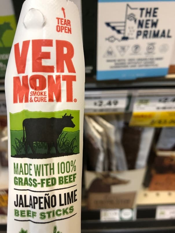 Jalapeno and Lime Beef Sticks