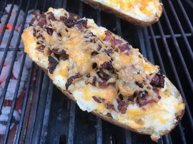 Twice Baked Potato With Beef Bacon