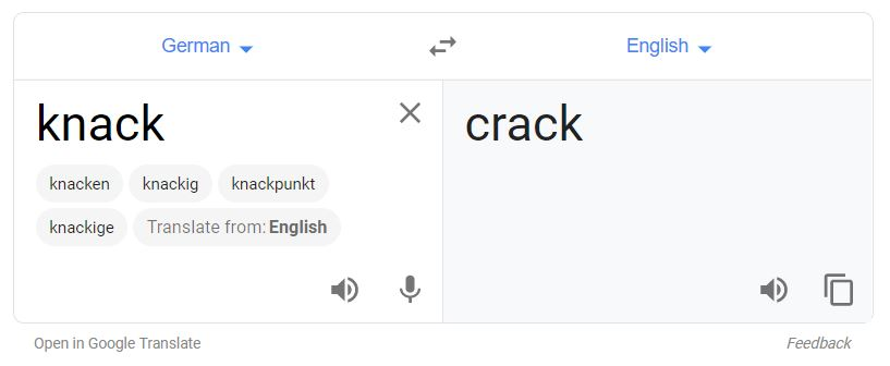 Meaning of Knack