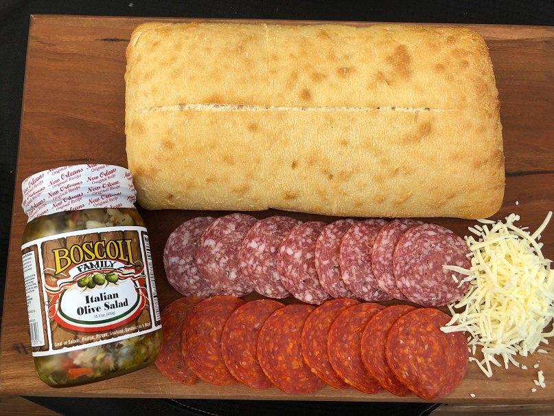 Italian Panini Ingredients