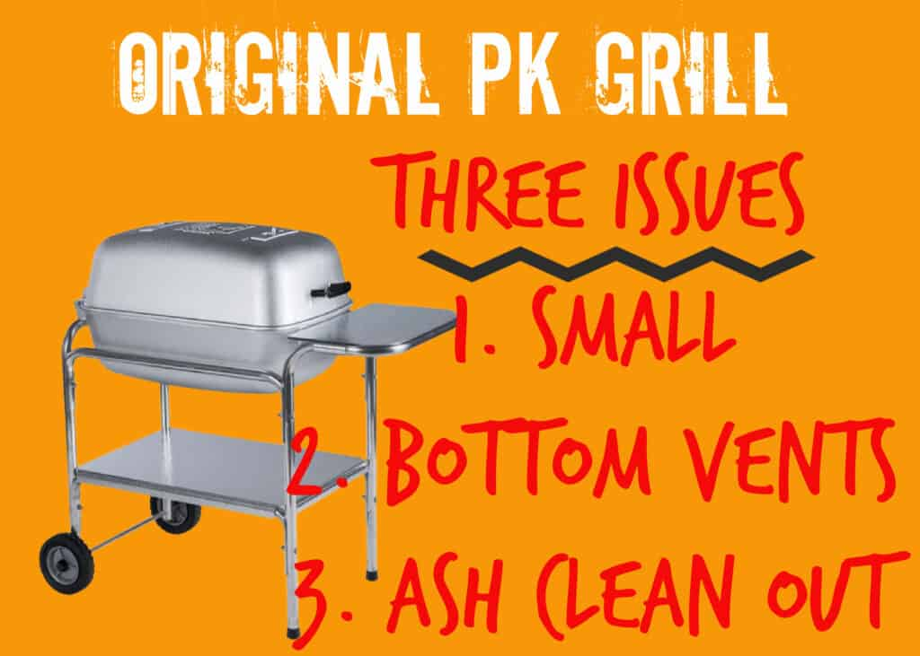 Issues with Original PK Grill