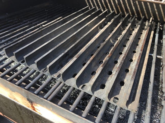 GrillGrate Panels on Z Grill