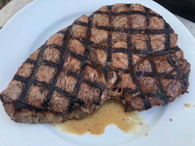 Steak from the RT 340
