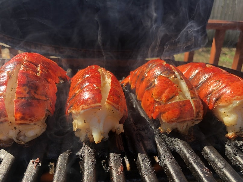 Weber Q1200 Lobster Tails