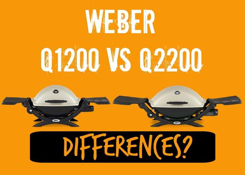 Weber Q1220 vs Q2200