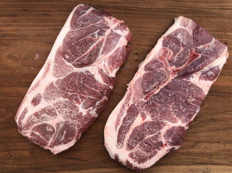 Two Pork Steaks