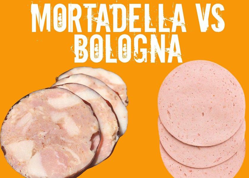 Mortadella vs Bologna