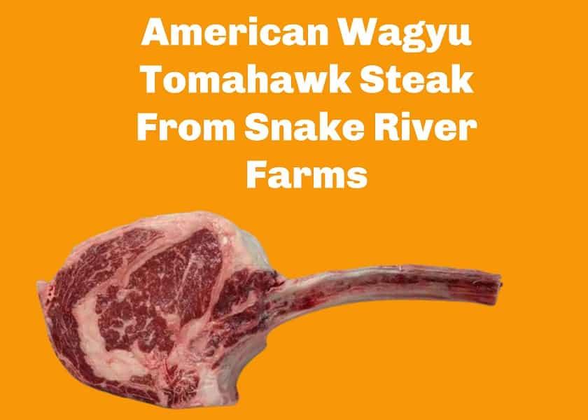 American Wagyu Tomahawk Steak